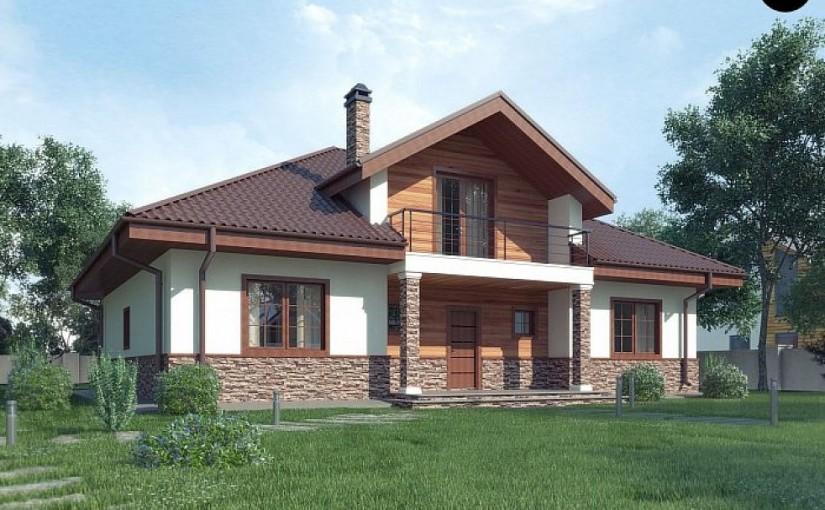Проект дома Z10 stu bk minus