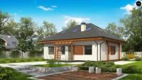 Проект дома Z121 A