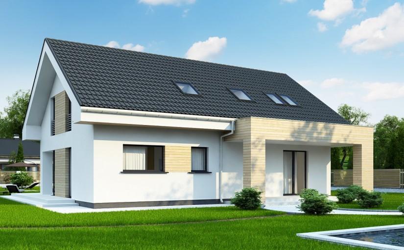 Проект дома Z160A