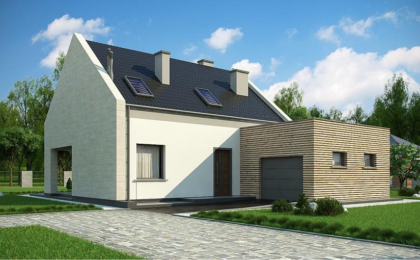 Проект дома Z364