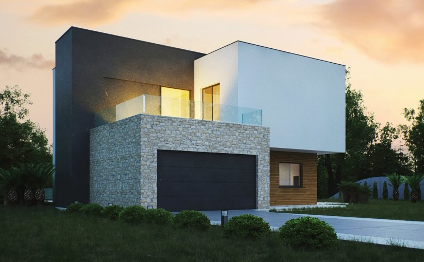 Проект дома Zr17