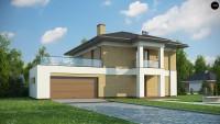 Проект дома Zx136