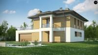 Проект дома Zx136 Фото 1