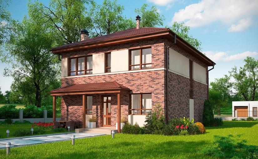 Проект дома Zx24a