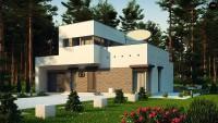Проект дома Zx46 — Фото 1