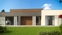 Проект дома Zx65 + Фото 2