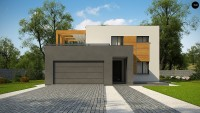 Проект дома Zx73 Фото 1