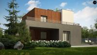 Проект дома Zx74 Фото 4