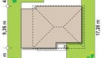Минимальные размеры участка для проекта Z29 minus