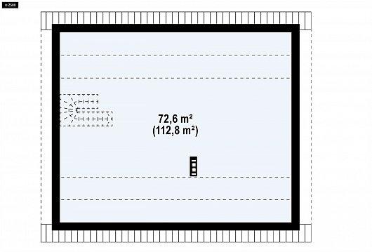 Второй этаж вскоре дома Z316