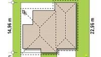 Минимальные размеры участка для проекта Z337