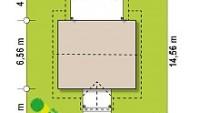 Минимальные размеры участка для проекта Z352