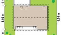 Минимальные размеры участка для проекта Z353