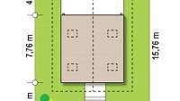 Минимальные размеры участка для проекта Z362