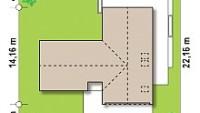 Минимальные размеры участка для проекта Z373