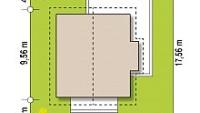 Минимальные размеры участка для проекта Z44 A