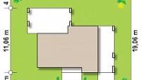 Минимальные размеры участка для проекта Zx150