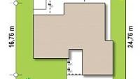 Минимальные размеры участка для проекта Zx78