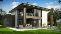 Проект дома Z156A minus Фото 3