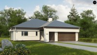 Проект дома Z200 L +100