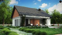 Проект двухэтажного дома 9 на 9 метра Z316