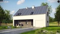 Проект классического двухэтажного дома Z353