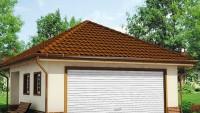 Проект красивого гаража Zg15