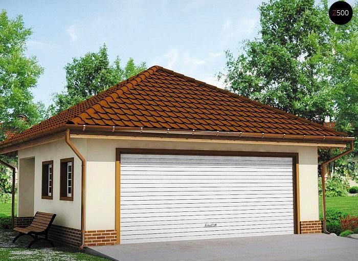 Проект гаража Zg15
