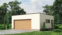 Проект красивого гаража Zg22