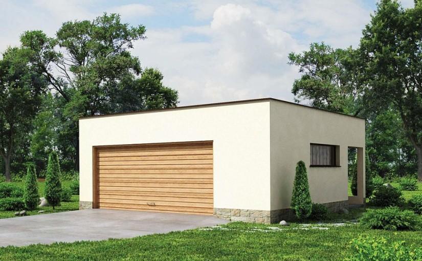 Проект гаража Zg22