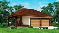 Проект гаража Zg24