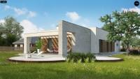 Проект дома Zx129 Фото 3
