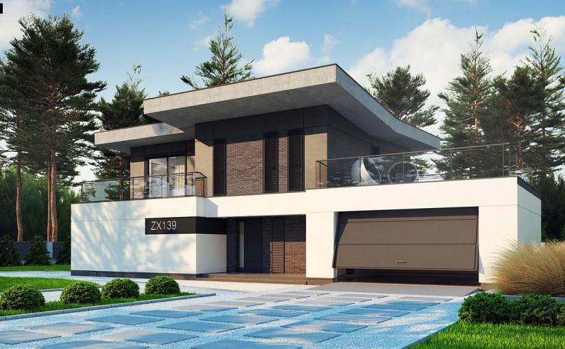 Проект дома Zx139