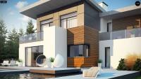 Проект дома Zx182 Фото 3