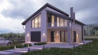 Проект дома ZH2 — Небесный 1