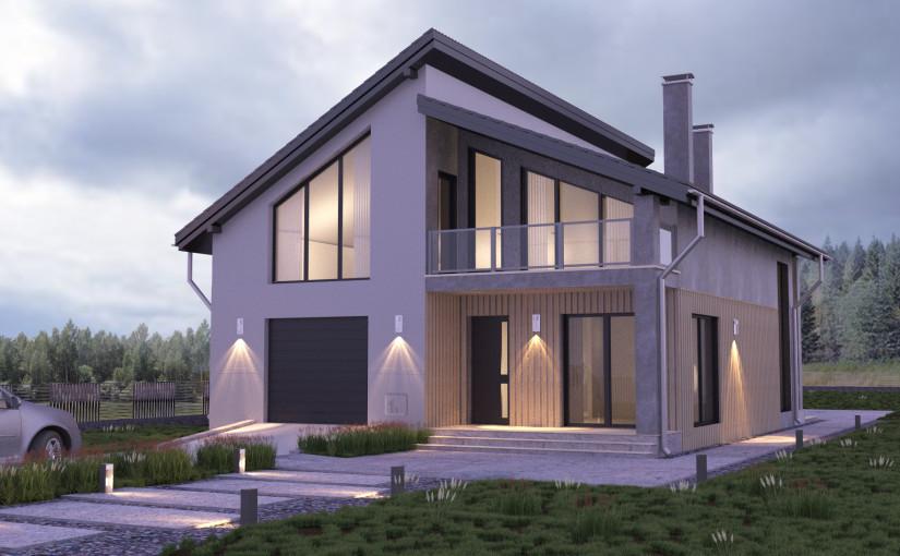 Проект дома Небесный 1