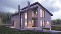 Проект дома ZH2 — Небесный 1 Фото 1