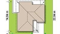 Минимальные размеры участка для проекта Z204 Gp