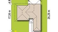 Минимальные размеры участка для проекта Z335