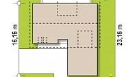 Минимальные размеры участка для проекта Z358