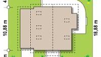 Минимальные размеры участка для проекта Z63 L GL