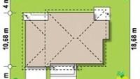 Минимальные размеры участка для проекта Zx12 F
