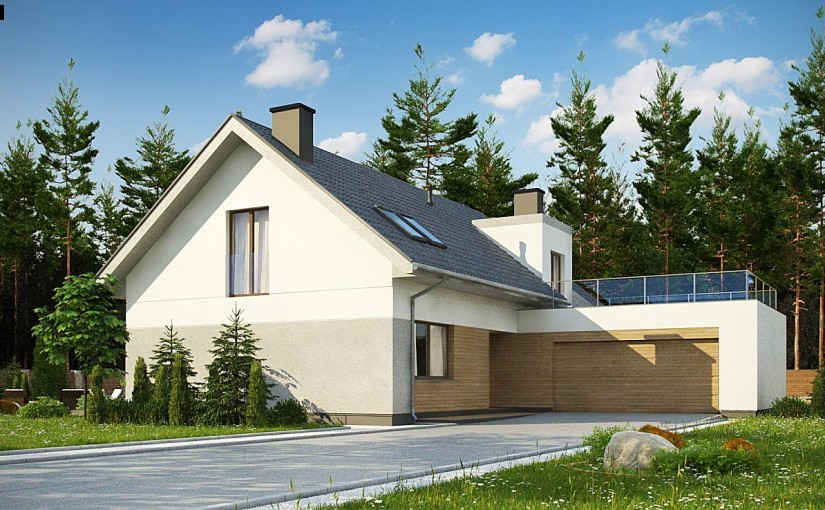 Проект дома Z358