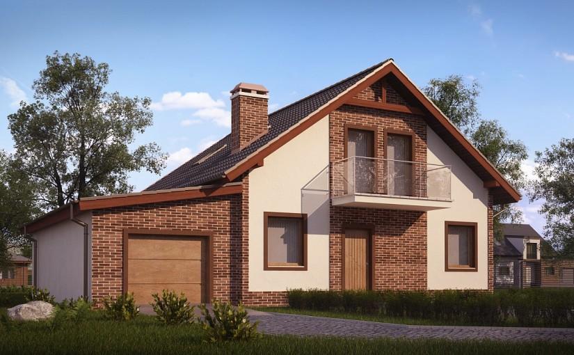 Проект дома Z63 L GL