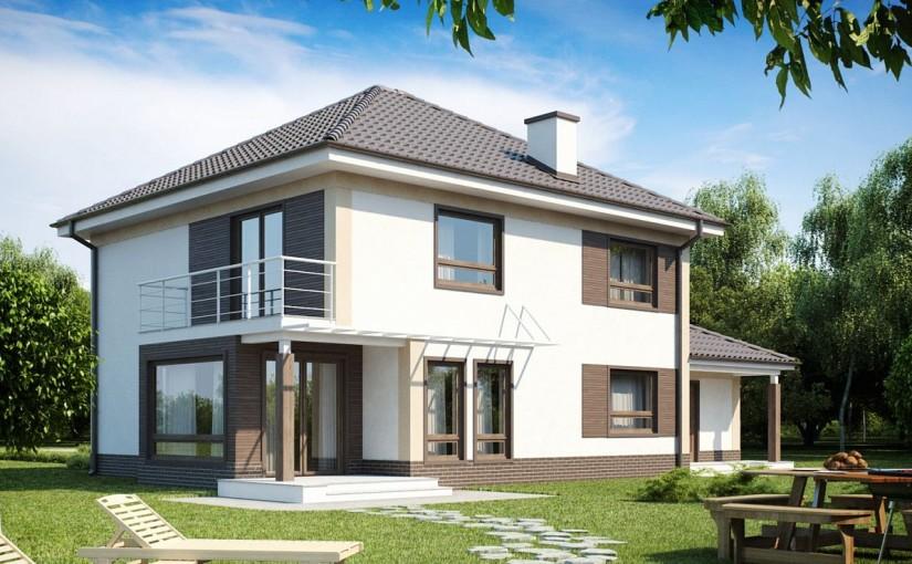 Проект дома Zx12 F
