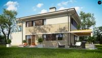 Проект комфортного дома Zx63 B + s