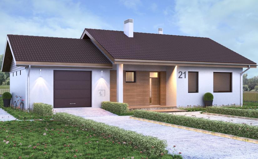 Проект дома ZH5