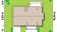 Минимальные размеры участка для проекта Z162 Gl