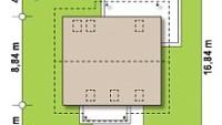 Минимальные размеры участка для проекта Z162 v3