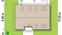 Минимальные размеры участка для проекта Z343